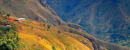 haiti berglandschaft