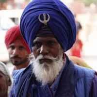 traditioneller Turban