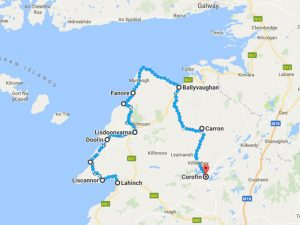Burren Way - Wanderweg durch die Burren Region