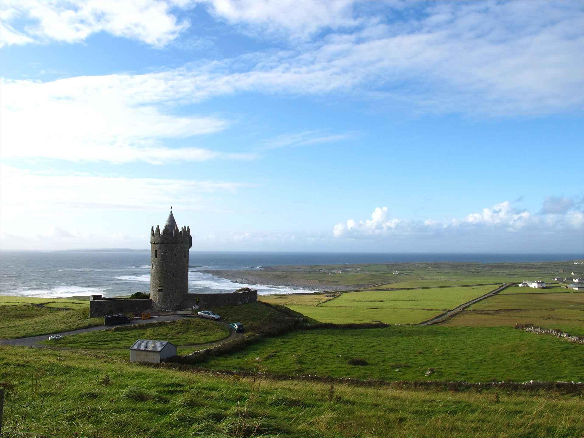 doonaghore castle co clare