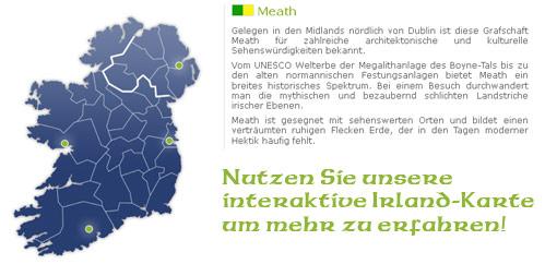 Interaktive Irland-Karte