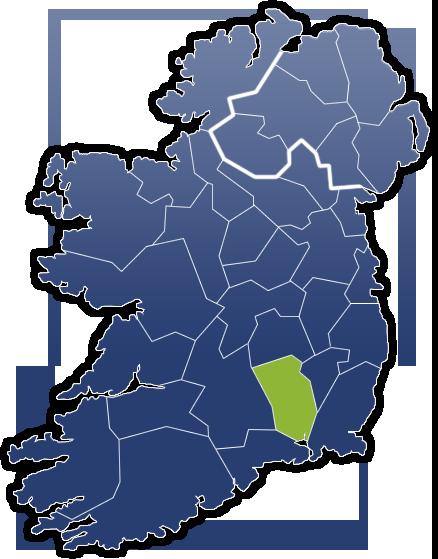 County Kilkenny - Irland Karte