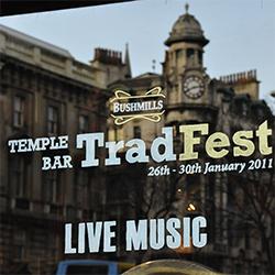 Alljährlich ein Highlight im Festival-Kalender: Das Temple Bar Trad Fest in Dublin