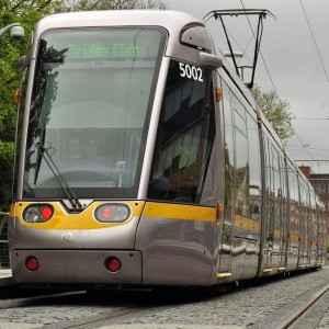Erfolgsprojekt mit jährlich 30 Millionen Fahrgästen: Das Netzwerk der Dubliner Straßenbahn Luas wird demnächst ausgebaut.