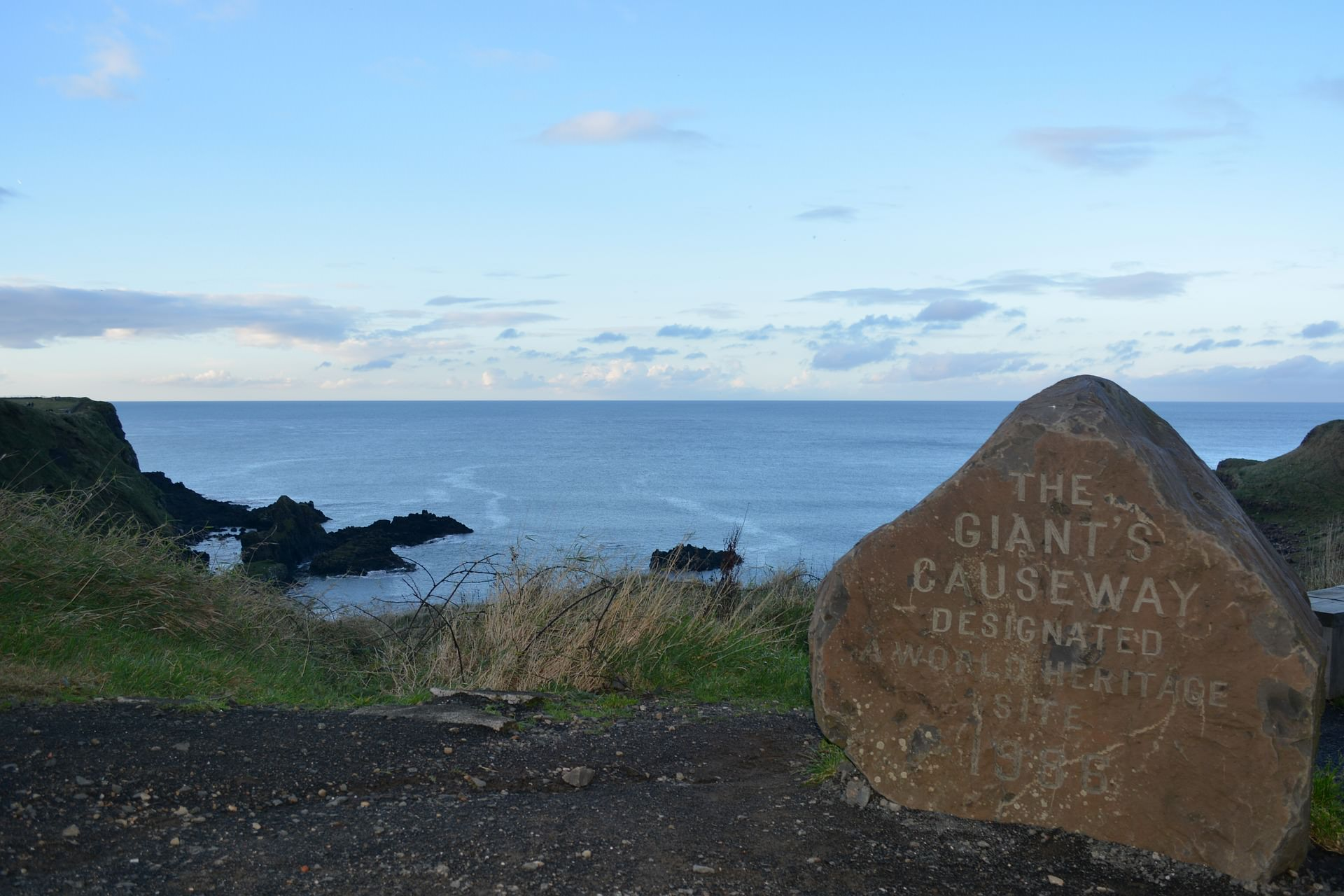 giants causeway sign