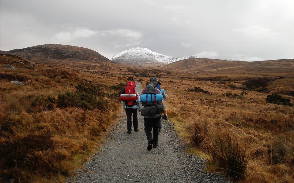 In Irland gibt es viele verschiedene Wanderwege