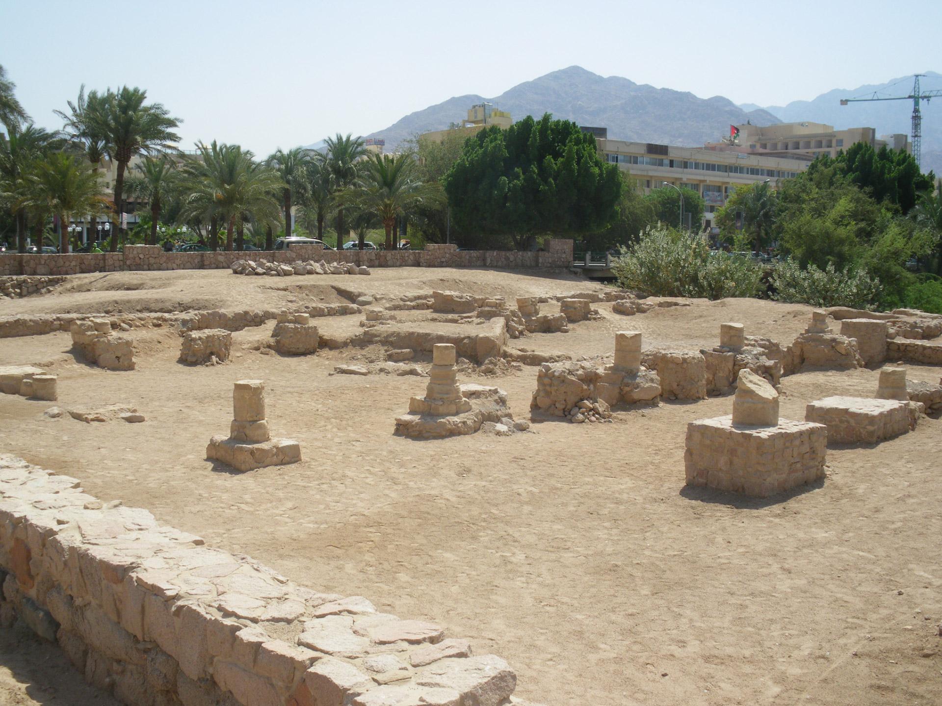 aqaba ayla moschee ruinen