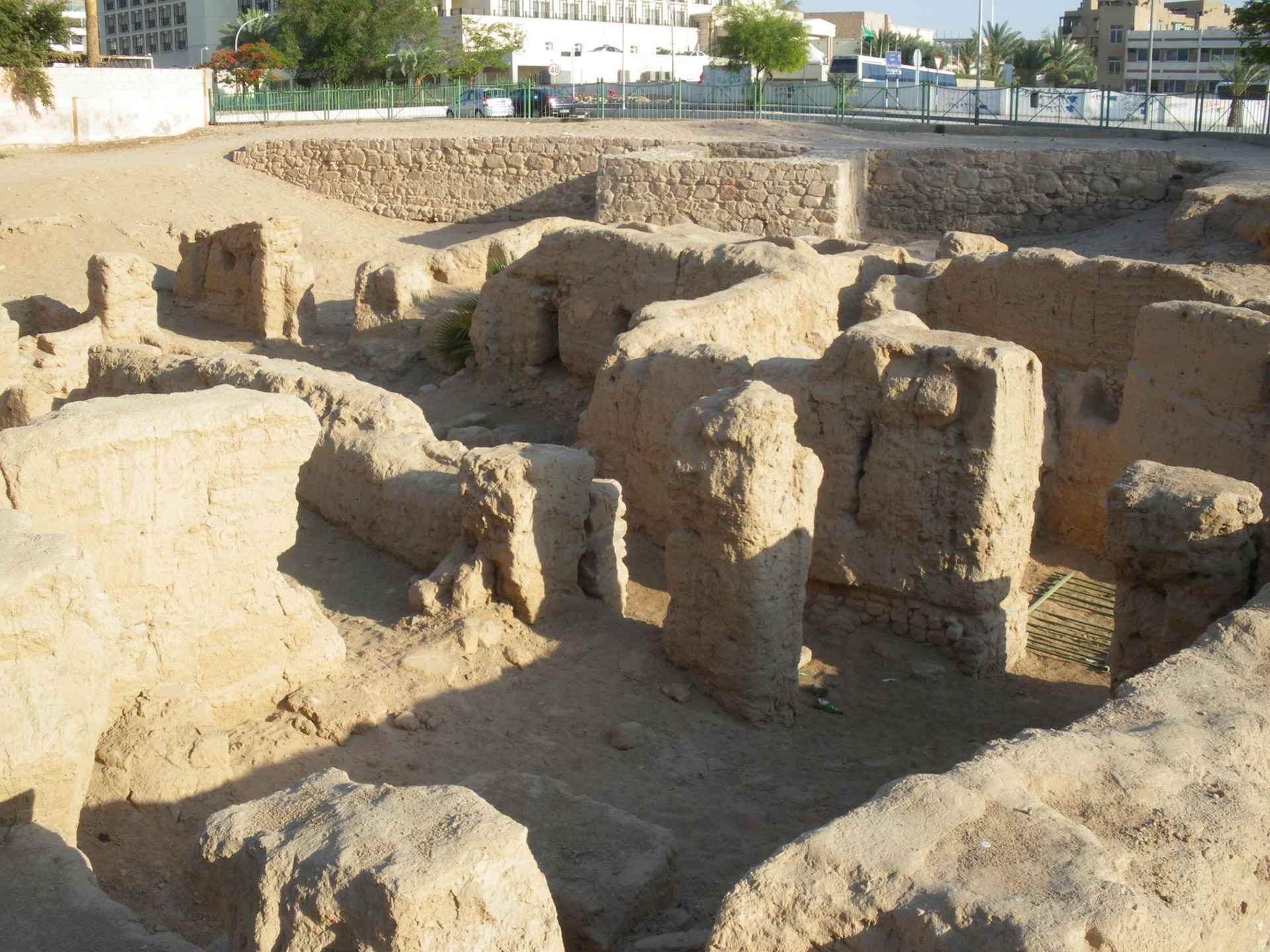 aqaba frühzeitliche kirche ruine