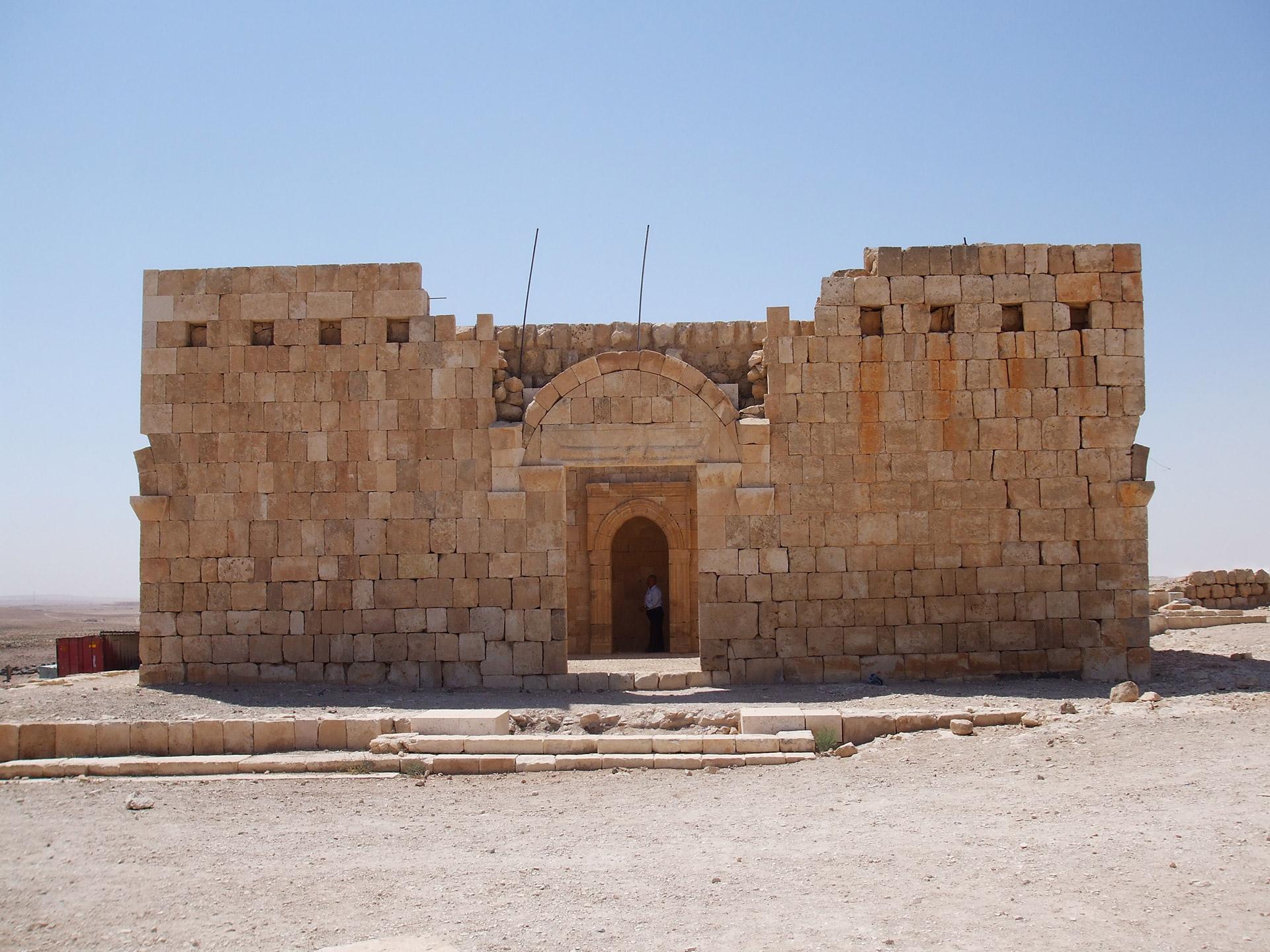 Wüstenschloss qasr al-hallabat