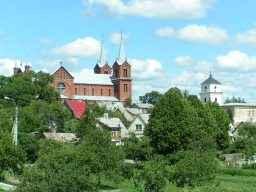 Kirche des Heiligen Johannes des Täufers in der Altstadt von Plunge