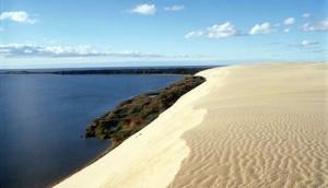 Die Sandduenen von Nida