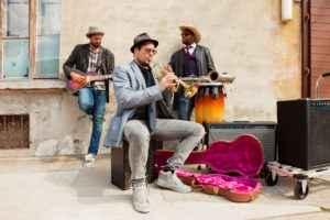 Jazz auf der Straße
