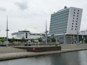 Der Hafen von Kiel