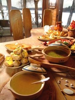 Die Suppe ist ein Hauptgericht in Litauen.