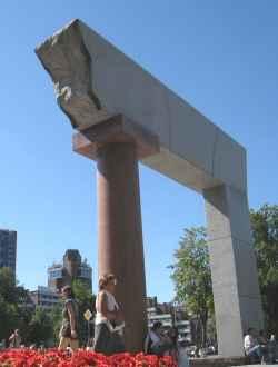 Granit-Denkmal Arche (ARKA) (c) UAB ANTILE
