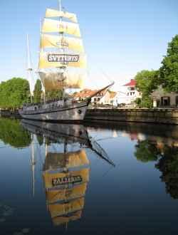Segelschiff Meridianas Klaipeda