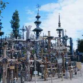 Litauen Berg der Kreuze, Hill of Crosses