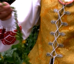 Frauendetail in Aukštaitija