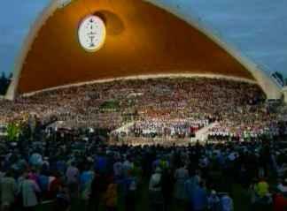 In Litauen werden alle fünf Jahre weltweit beispiellose nationale Gesangs- und Tanzfeste veranstaltet. (c) llkc.lt