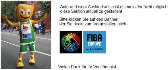 Basketball EM 2011 News auf der FIBA EUROPE Homepage