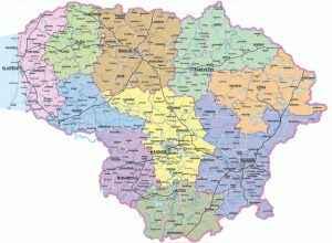 litauen-karte