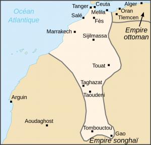 Karte Eroberungen der Saadier