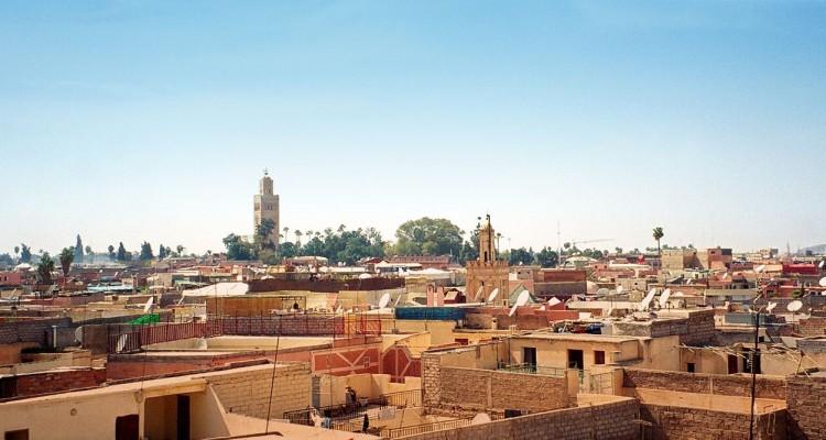 Königsstadt Marrakesch