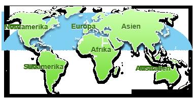 Mietwagen.info Weltkarte