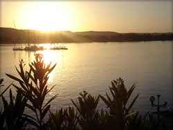 Nil (mündet in das südliche Mittelmeer)