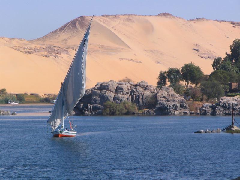 Der Nil ist der einzige Zufluss zum Nassersee