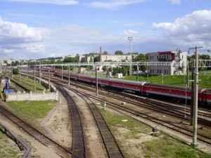 Schienenverkehr in Litauen bei Wilna