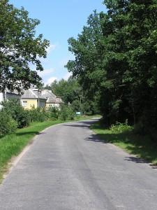 Straße in Polen