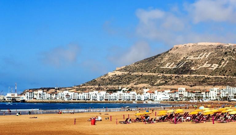 Agadir-Strand-Pauschalreise
