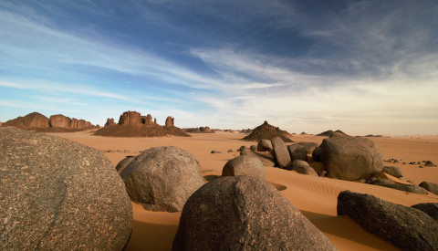 Mystik in Algeriens Sahara.