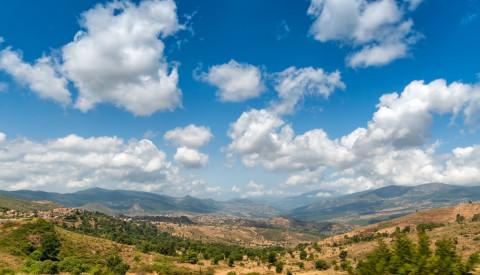 Das Atlas Gebirge in Algerien.