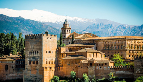 Alhambra-Andalusien