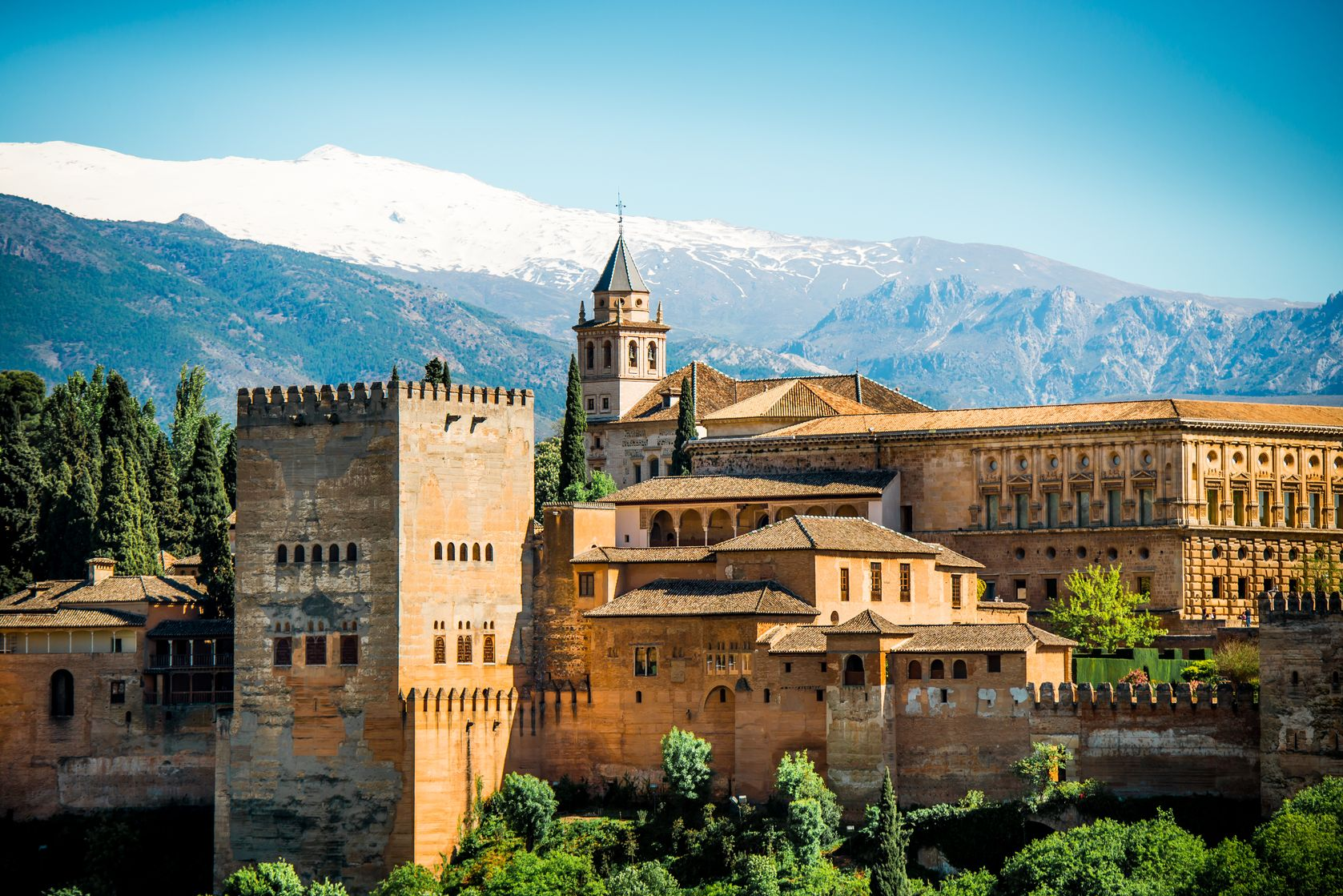 Reisen Andalusien Alhambra