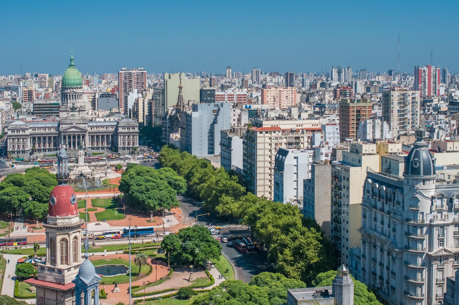 Auf Platz 1 die Hauptstadt Buenos Aires.