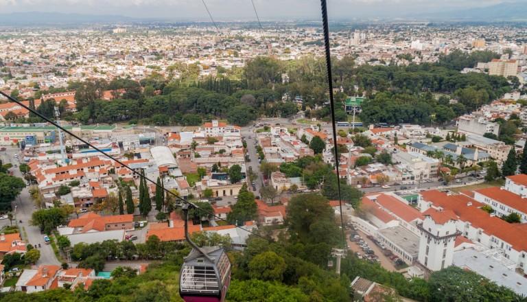 Die Altstadt von Salta in Argentinien