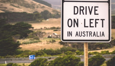 Australien Linksverkehr