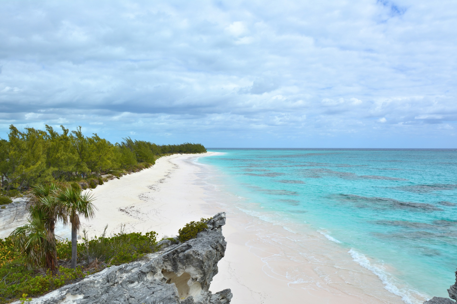 Karibische Traumstrände der Bahamas. Reisen.
