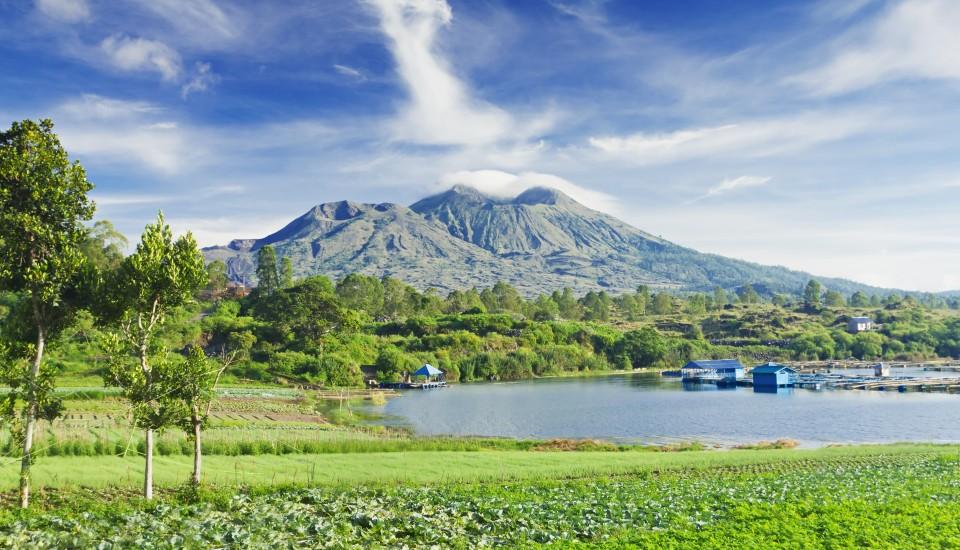 Der Batur Vulkan auf Bali