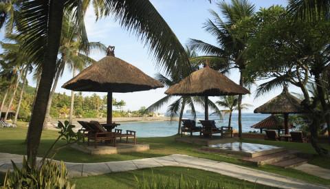 Resort auf Bali