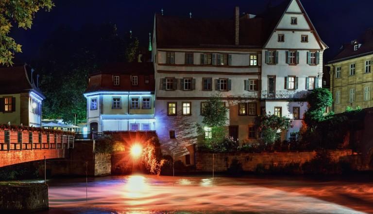 Städtereisen Bamberg bei Nacht