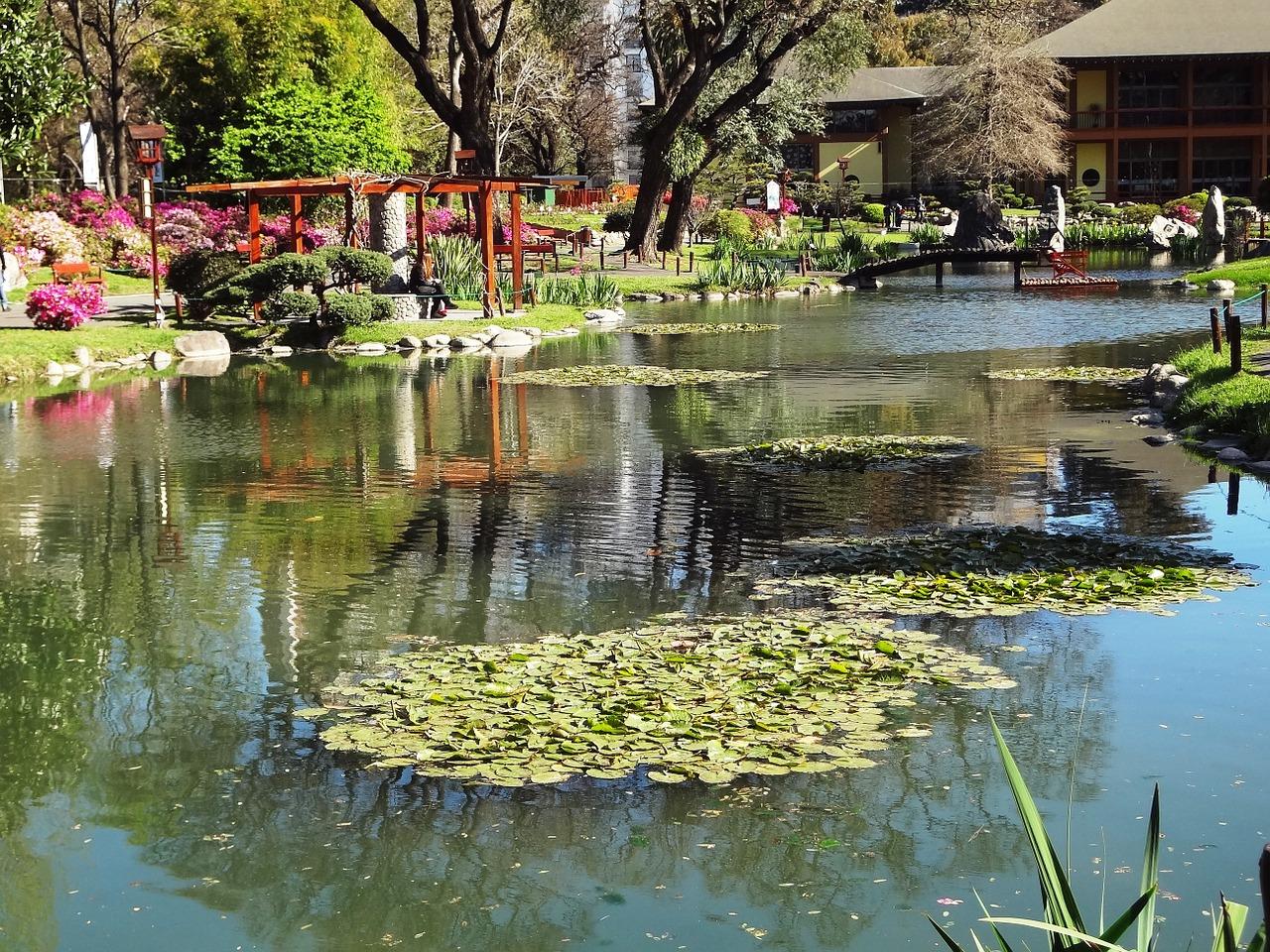 Buenos Aires - Japanische Garten lake