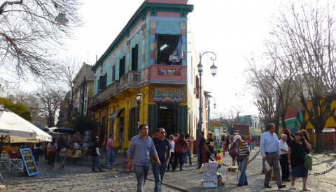 Buenos Aires - La-boca - Beliebte Stadtteile