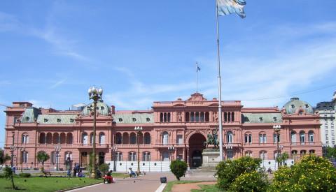 Sehenswürdigkeiten in Buenos-aires-Casa Rosada