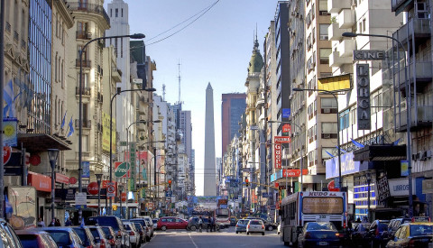 Buenos-aires-Shopping Street