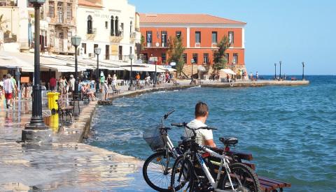 Altstadt und Hafen von Chania, Kreta