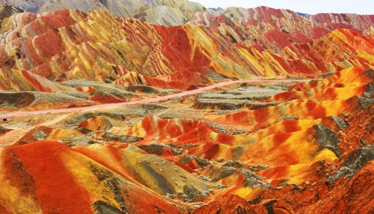 Pauschalreise-Zhangye-Danxia-Geopark
